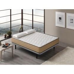Colchón Viscoelástico Bamboo Confort grosor 21 cm